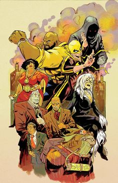 POWER MAN & IRON FIST To Introduce 'One of Most Crucial Villains in Marvel U ' Going Forward | Newsarama.com