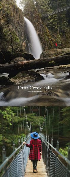Amazing Hike on the Oregon Coast - Photo Guide to Drift Creek Falls Hike, Lincoln City // Local Adventurer #usa #travel #lincolncity #waterfall #hiking #oregon #oregoncoast #pnw #pacificnorthwest #outdoors