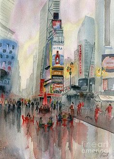 Melly Terpening - Time Square New York