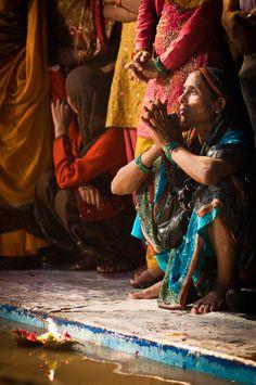 Invocation and Prayer ☽ Navigating the Mystery ☽ Ganges Faith - Varanasi, India