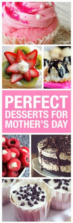 Share the Love: 22 Desserts Perfect for Mother's Day
