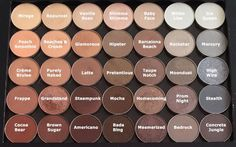 Makeup Geek Cosmetics neutral eyeshadow palette