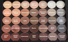 Makeup Geek Cosmetics neutral eyeshadow palette