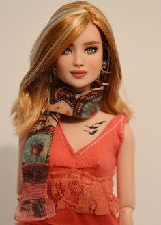 Jodi- Divergent Tris Barbie Repaint OOAK by DollAnatomy.co… | Flickr