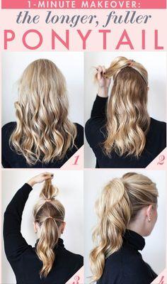 High ponytail #hair