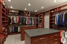 Vanroy Master Closet - traditional - closet - other metro - by A Divine Closet