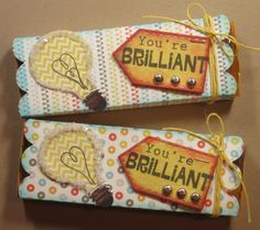 Brilliant treat boxes