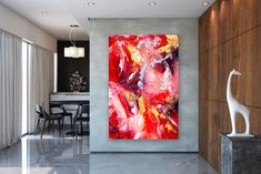 Your place to buy and sell all things handmade Acrylic Canvas, Painting Canvas, Large Painting, Canvas Art, Original Artwork, Original Paintings, Extra Large Wall Art, Abstract Wall Art, Modern Decor