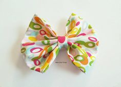 Hey, I found this really awesome Etsy listing at https://www.etsy.com/listing/216456768/colorful-hair-bow-large-fabric-hair-bow