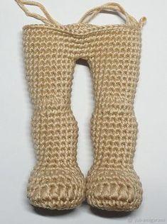 Photo from album Doll Amigurumi Free Pattern, Octopus Crochet Pattern, Crochet Necklace Pattern, Crochet Dolls Free Patterns, Amigurumi Doll, Crochet Doll Clothes, Knitted Dolls, Crochet For Boys, Crochet Baby