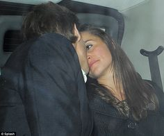 That loving feeling: Pippa and Nico close in for a kiss