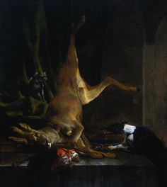 Jan Weenix / Disembowelled Deer