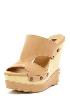 Bia Slip-On Wedge Sandal
