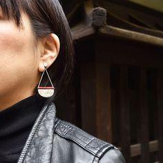 #silver #coral #earrings by #joidart