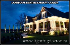 One of the best ways to save money and to highlight the architecture of your home or yard is through the use of outdoor lights and #landscape_lighting. #LandscapeLightingCalgaryCanada #LightingDoctor #Calgary #Alberta #Canada #LightingDesign #Lightings www.lightingdoctor.ca/