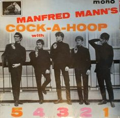 Manfred Mann's Cock-A-Hoop With 5 4 3 2 1 E.P. (1964) - Manfred Mann