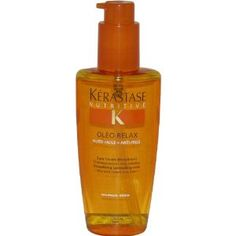 Kerastase Oleo Relax: Expensive, but makes blow drying my curly hair a breeze. I take it with me whenever I go to the salon