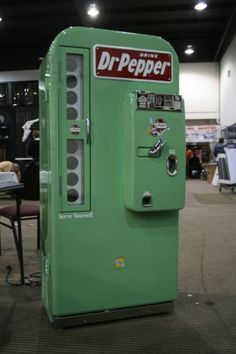 my step dad has an old Dr Pepper machine