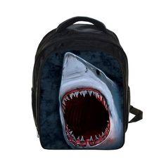 Cool Animal Shark Dolphin Penguin Backpack For Boys School Bags Kids Children Backpack Cartoon Bags Schoolbags Best Gift Bag
