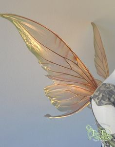 Titania Painted Large Iridescent Fairy Wings