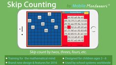 Skip Counting app for iOS!