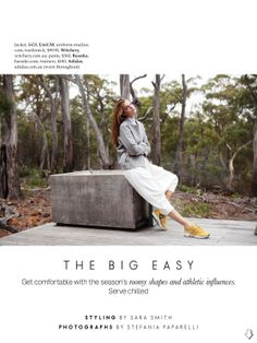visual optimism; fashion editorials, shows, campaigns & more!: the big easy: gertrud hegelund by stefania paparelli for elle australia june 2014
