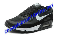 outlet store c99d2 647b5 Black Silver Nike Air Max 90 Mens 333888 001 Nike Air Max Mens, Nike Air