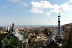 Views from Barcelona's Park Guell.