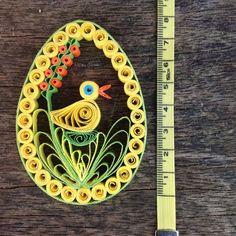 Easter Egg Paper Quilled Decoration by KariHandmadeArtEden
