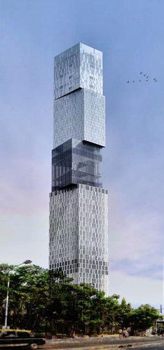 MUMBAI | India Tower | 74 floors | 301m — Mumbai's tallest skyscraper begins construction! « Indian Skyscraper Blog #architecture
