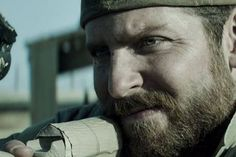 """From director Clint Eastwood comes """"American Sniper,"""" starring Bradley Cooper as Chris Kyle, the most lethal sniper in U. Chris Kyle, Clint Eastwood, Eastwood Movies, Bradley Cooper, Motivational Videos, Inspirational Videos, Motivational Speeches, Michelle Obama, Mtv"""
