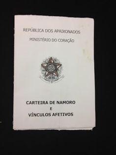 Romandicas: Carteira de Namoro  http://romandicas.blogspot.com.br/2015/09/carteira-de-namoro.html