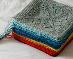 anneau magique au tricot