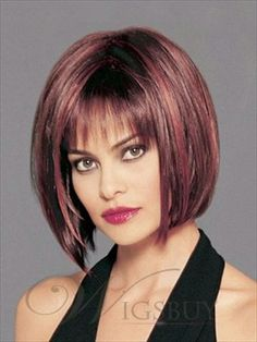 Stylish Charming Short Straight Dark Auburn Human Hair Bob Wig Grab unbeatable discounts up to Off at Wigsbuy using Coupon and Promo Codes. Super Short Hair, Short Straight Hair, Short Hair Cuts, Straight Haircuts, Bob Haircuts, Bob Hairstyles For Fine Hair, Wig Hairstyles, Hairstyle Short, Medium Hair Styles