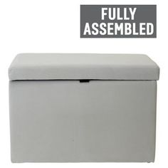 Buy Fabric Ottoman Fully Assembled - Grey at Argos.co.uk, visit Argos.co.uk to shop online for Ottomans