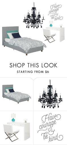 """Quarto"" by manoeladeaguiar-farias ❤ liked on Polyvore featuring interior, interiors, interior design, home, home decor, interior decorating and Crystorama"