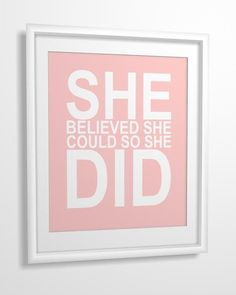 Wise Words: 26 Pretty Prints to Inspire You This Summer Girl Quotes, Me Quotes, Motivational Quotes, Inspirational Quotes, Qoutes, Random Quotes, The Words, She Believed She Could, Quote Prints