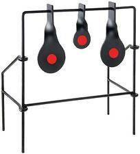 Metallic Triple Spinner Target Air Gun 22 Rifle Practice Shoot Kids Adult Steel