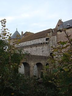 chateau médiéval, Dieppe Normandie France
