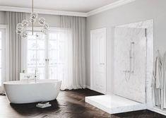 Galeria łazienek - zdjęcia, gotowe projekty - Domni.pl Clawfoot Bathtub, Siena, Nova, Bathroom, Washroom, Full Bath, Bath, Bathrooms