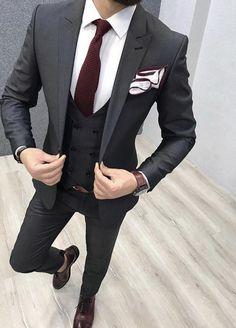 Prom Suits For Men, Best Suits For Men, Cool Suits, Mens Suits, Blazer Outfits Men, Mens Fashion Blazer, Suit Fashion, Wedding Dress Men, Wedding Suits