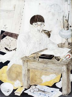 Panorama de l'oeuvre de Maître Léonard Foujita (Tsuguharu Fujita)