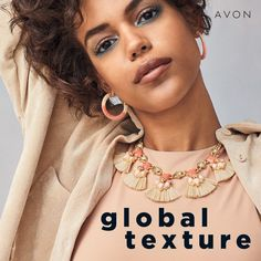 Amp up your spring style with some global texture. Crafted with a goldtone chain, pink beads and fringed raffia accents, this unique statement necklace is sure to earn you compliments. Where To Spray Perfume, Avon Brochure, Brochure Online, Mane Event, Makeup Sale, Oil Shop, Avon Online, Avon Representative, Discount Makeup