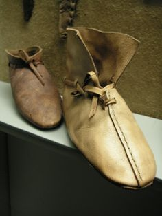 Viking shoes, museum in Haithabu, fin more under www.kaskassnapshots.blogspot.com