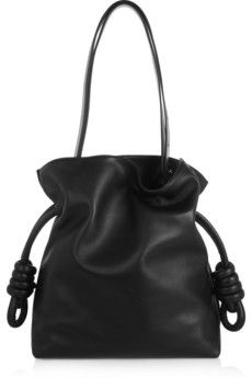 // Loewe Flamenco Knot small leather shoulder bag | NET-A-PORTER