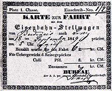http://de.wikipedia.org/wiki/Pferdeeisenbahn_Budweis–Linz–Gmunden