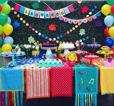 Festa Artes - decoração mini mimo festas- www.minimimofestas.com.br