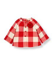 This has Maizie Jane written all over it! (It's very tiny and hidden in the gingham!)