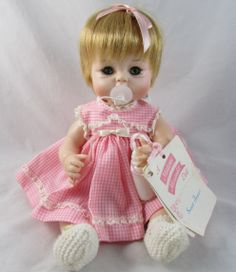 1965 Sweet Tears Madame Alexander w Tag Pacifier Very Fine