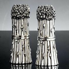 Godinger ASPARAGUS SALT AND PEPPER by TheCozyPineapple. $58.00. Manufactured to the Highest Quality Available.. Design is stylish and innovative. Satisfaction Ensured.. Great Gift Idea.. Godinger is a unique company that specializes in handmade silver pewter crystal and elite gift items. From wedding gifts candlesticks barware bakeware tea sets and frames you are sure to find the ideal item for any special occasion. Godinger's goal is to prov...